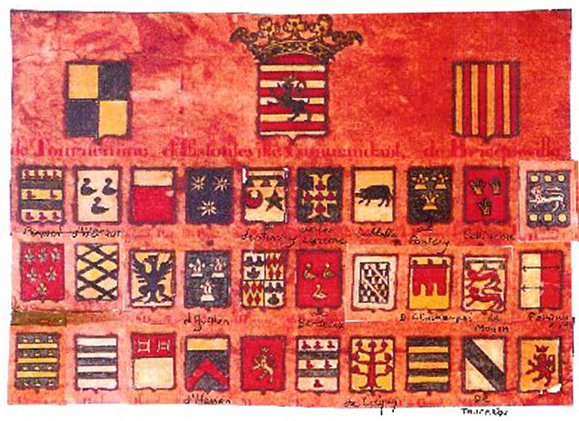 Liste des défenseurs du Mont-Saint-Michel en 1434