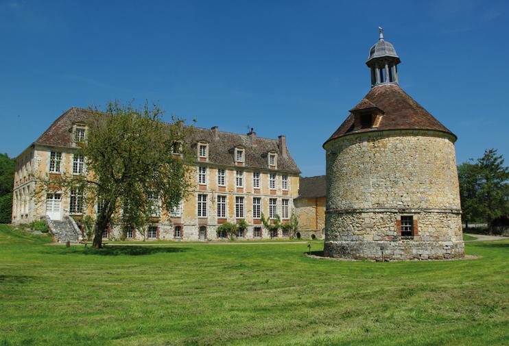 Abbaye de Mortemer. (© Stéphane William Gondoin).
