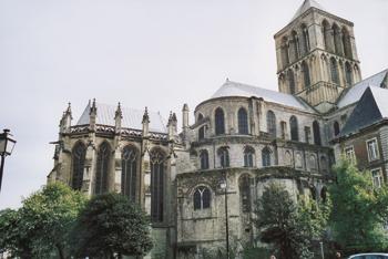 La royale abbaye de la Sainte Trinité de Fécamp. (Photo Alexandre Vernon © Patrimoine Normand.)