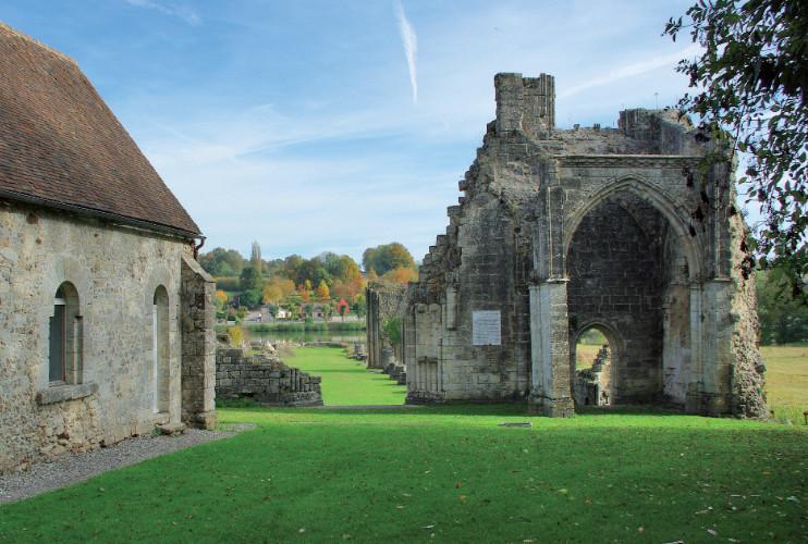 L'abbaye de Saint-Évroult