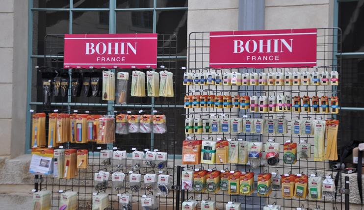 Les aiguilles de la manufacture Bohin