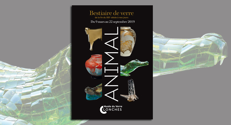 Exposition « Animal - Bestiaire de verre » au musée du Verre de Conches