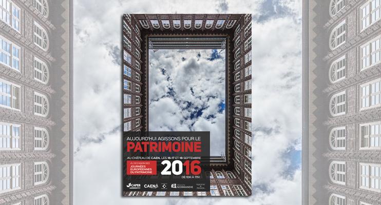 Journées européennes du Patrimoine - manifestation « Aujourd'hui agissons pour le patrimoine » à Caen (DR).