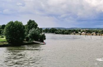 La Basse-Seine constitue un axe de circulation majeur pour les hommes et les marchandises (© Viriginie Michelland)
