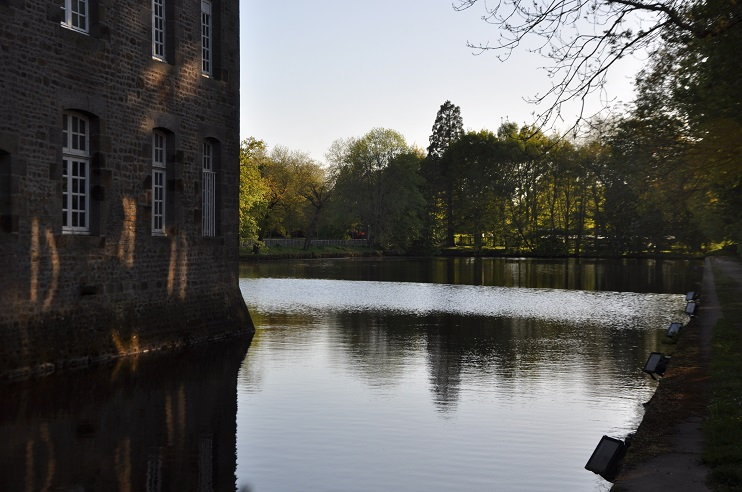 Bassin château de Flers