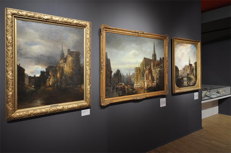 Exposition « Caen en images » au musée de Normandie