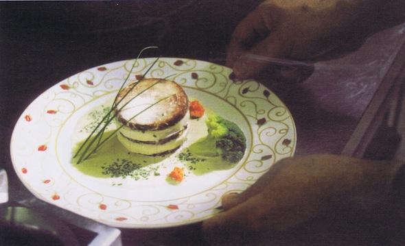 Charlotte d`andouille au pommeau
