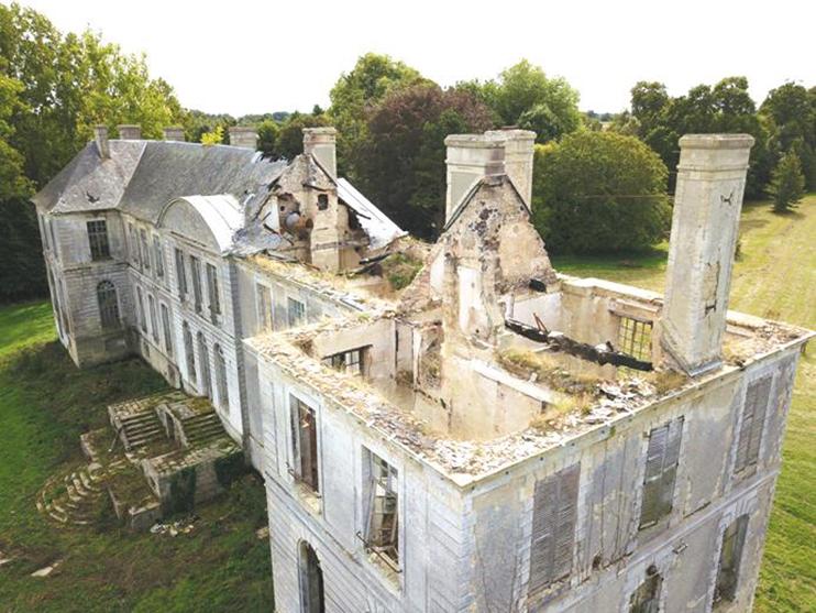 Château de Magny-en-Bessin. (© Hervé Baptiste)