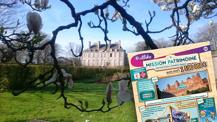 Le logis principal du château de Carneville, édifié en 1755, fut jusqu'au milieu du XXe siècle un lieu de réception incontournable de la région. (© Association des Amis du Château de Carneville)