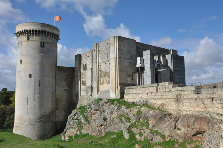 Le château de Falaise (Photo Rodolphe Corbin © Patrimoine Normand)