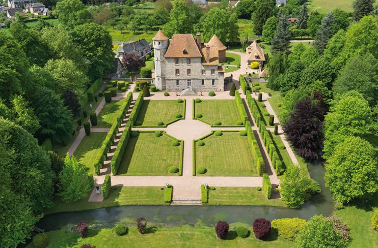 Jardins du château de Vascœuil