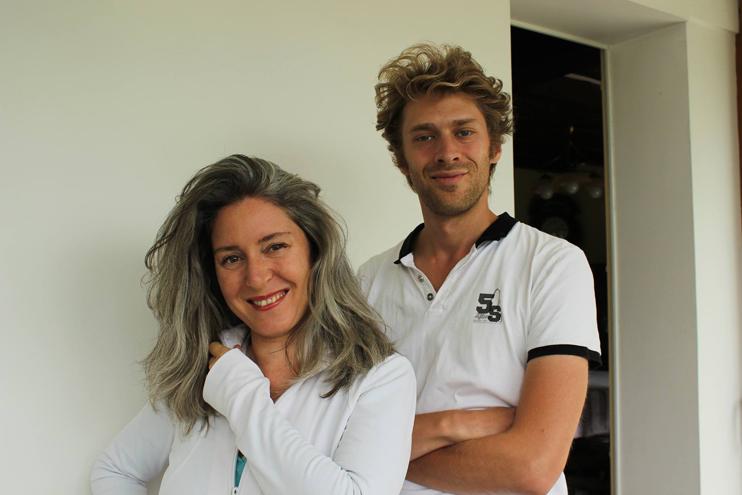 Florian Hurard et Chloé S.Herzhaft, créateurs de la Fête des Normands (© Fête des Normands).