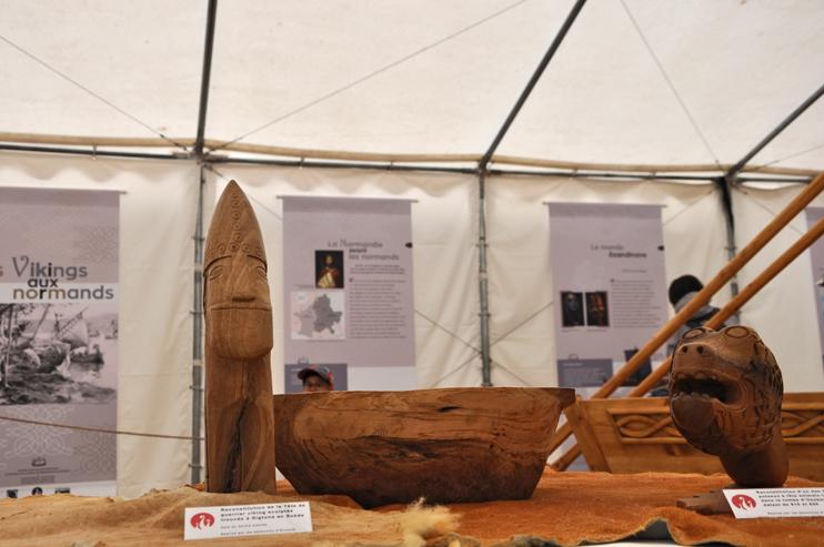 Exposition Des Vikings aux Normands, à Ornavik. (Photo Rodolphe Corbin © Patrimoine Normand)