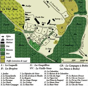 Le domaine de Gilles de Gouberville au Mesnil-au-Val, reconstitué par le professeur Roupsard. (« Histoire et Sociétés rurales » - N° 17.)