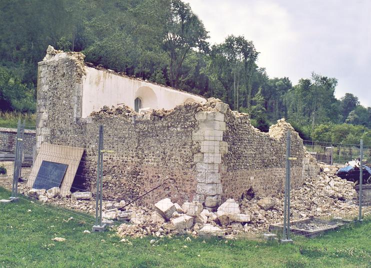 Après le passage des démoliseurs. (Photo Alexandre Vernon© Patrimoine Normand.)