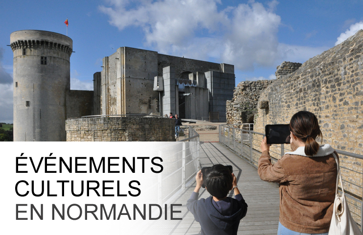 Evénements culturels en Normandie