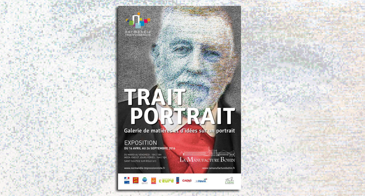 Exposition « Trait portrait » à la manufacture Bohin