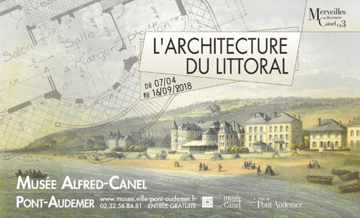 Exposition «l'architecture du littoral» au musée Alfred-Canel
