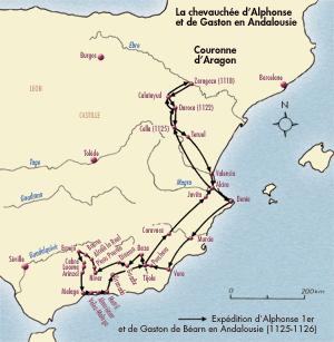Expédition d`Alphonse Ier et de Gaston de Béarn en Andalousie (1125-1126)