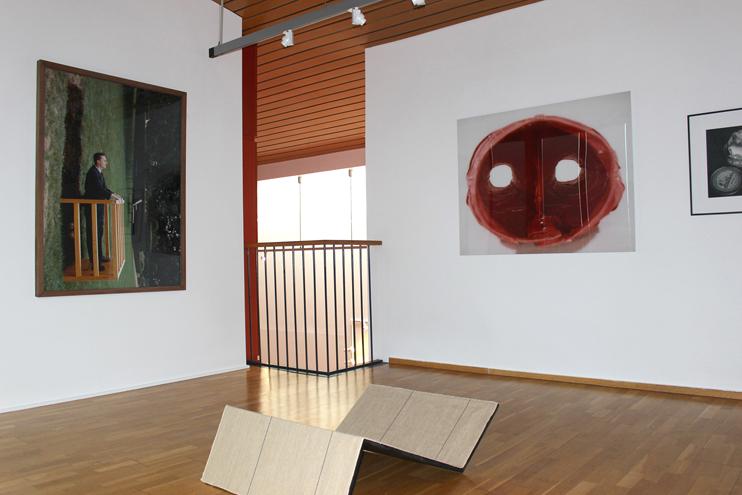 L`exposition  Un hiver au printemps, Une proposition de Lilian Bourgeat  au musée Alfred-Canel de Pont-Audemer. ( Musée Alfred-Canel)