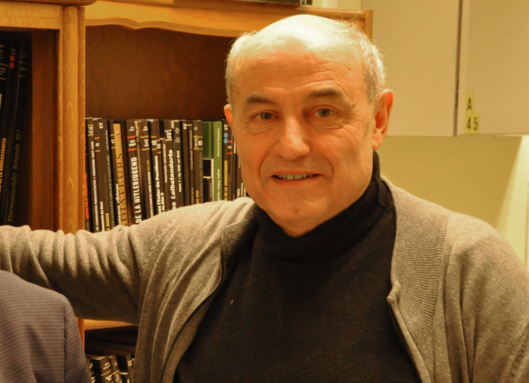 Georges Bernage (Photo Rodolphe Corbin).