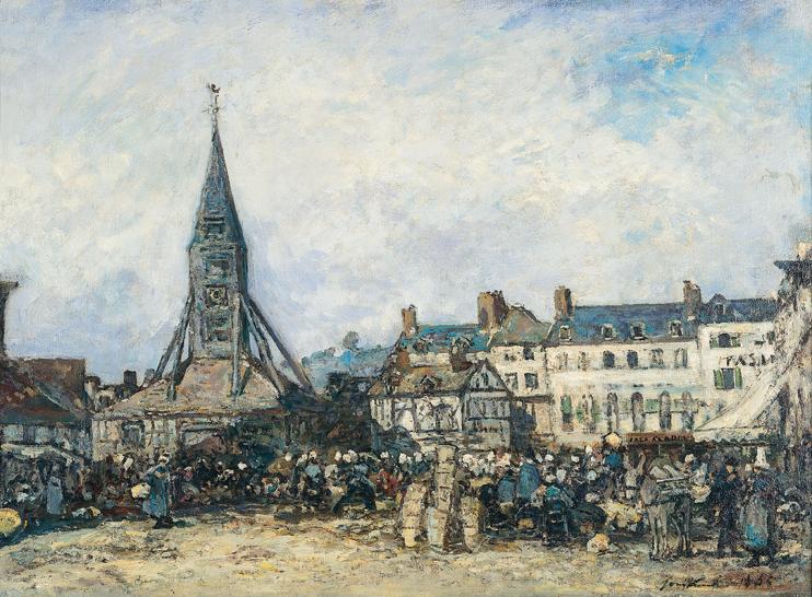 Honfleur berceau de l'impressionnisme ?