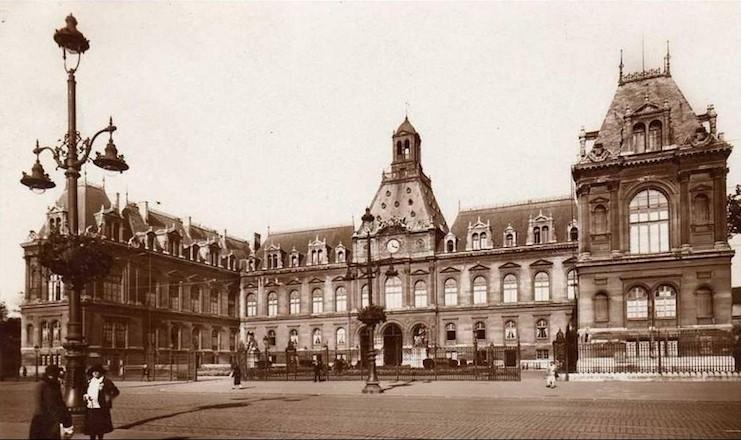 L`Hôtel de Ville du Havre inauguré en 1859