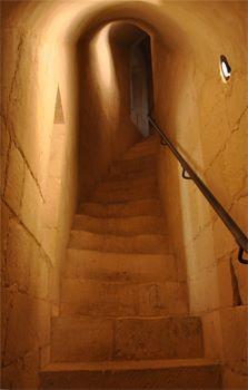 Intérieur du château de Falaise