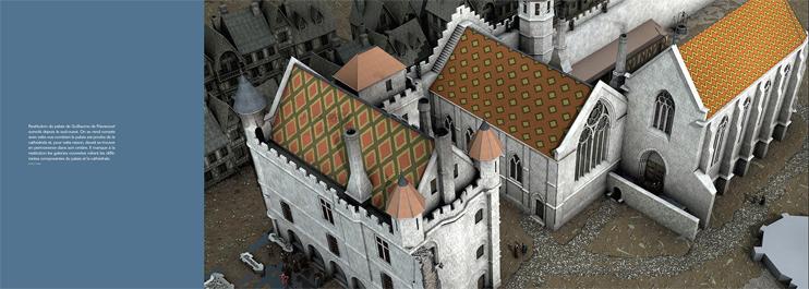 Intérieur livre Rouen palais
