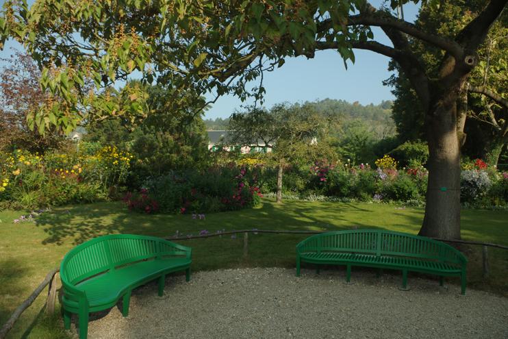 Paix et sérénité dans le cadre idyllique de Giverny (© Stéphane William Gondoin).