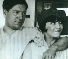 Jean Gabin et Gaby Basset, sa première épouse.