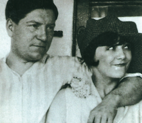Jean Gabin et Gaby Basset, sa première épouse (© photo famille Moncorgé).