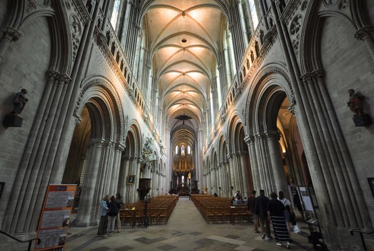 La cathédrale de Bayeux (Photo Rodolphe Corbin © Patrimoine Normand).