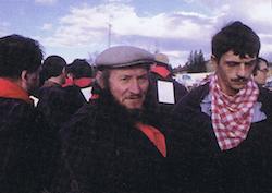 Les participants de la foire au boudin de Montargne