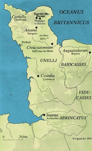 La Manche à l'époque romaine