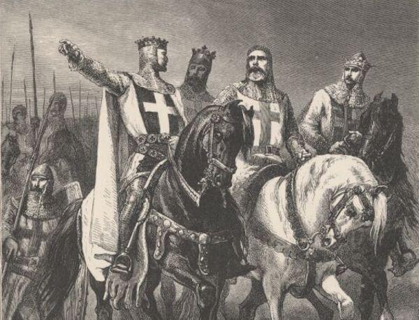 Les chefs de la première croisade. (DR)