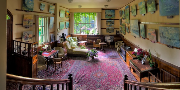 le salon maison monet giverny
