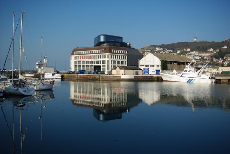 Les Pêcheries, un musée dans un environnement portuaire