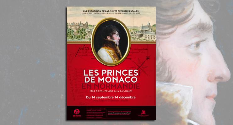 Les princes de Monaco en Normandie