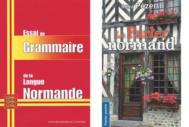 Livres sur la langue normande. (DR)