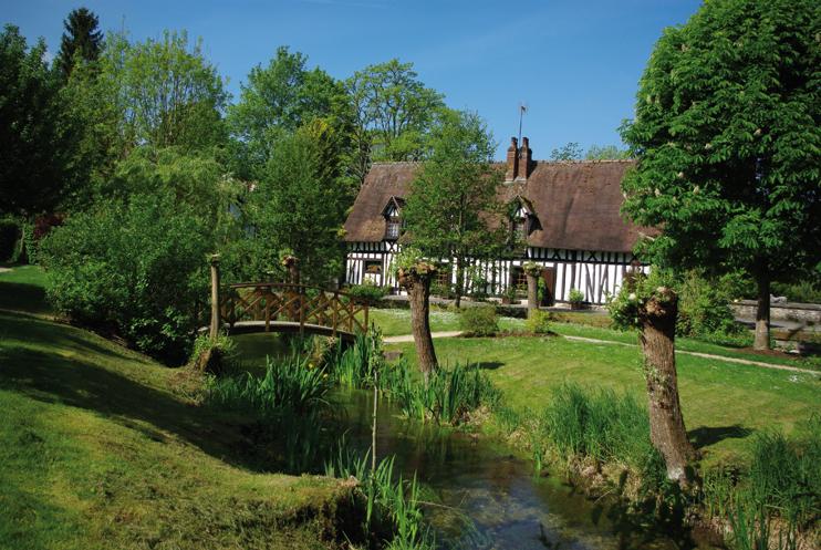 Le village de Lyons-la-Forêt, au nord du Vexin, telle une carte postale de la Normandie éternelle. ( Stéphane William Gondoin)