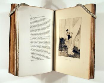 Édition de Madame Bovary datant de 1885, illustrée par Albert Auguste Fourié.  (© Metropolitan museum of art - The Elisha Whittelsey Collection – DR).