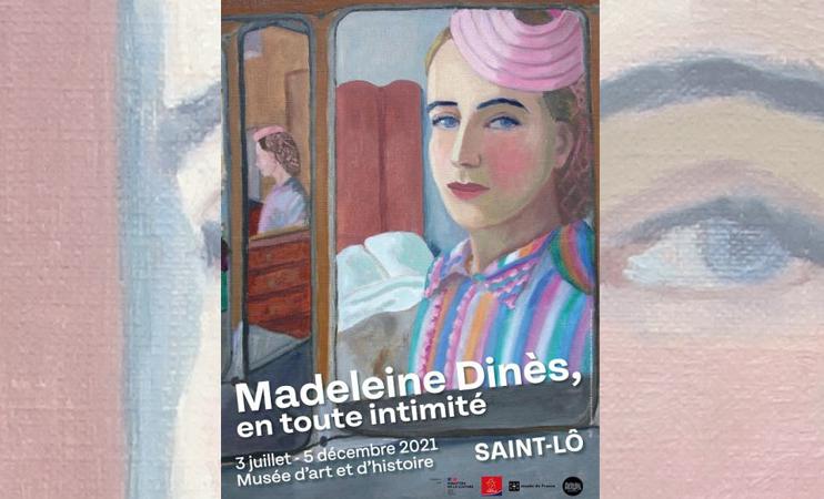 Exposition « Madeleine Dinès, en toute intimité »