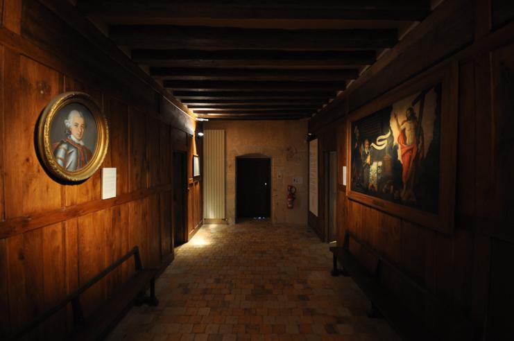 Intérieur du manoir de Courboyer (photo Rodolphe Corbin © Patrimoine Normand).