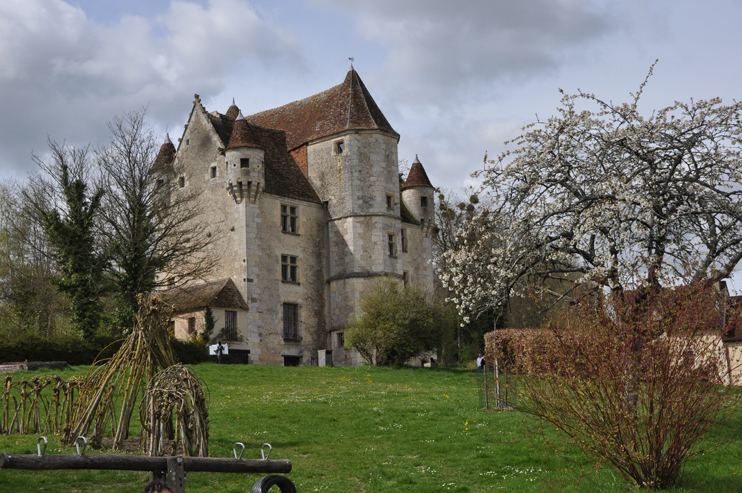 Manoir de Courboyer (Photo Rodolphe Corbin © Patrimoine Normand).