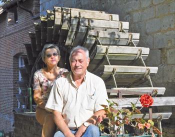 Marie-France et Marcel Caron. (Photo Rodolphe Corbin © Patrimoine Normand)