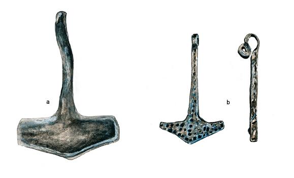 marteaux de Thor - Vikings normandie