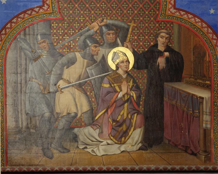 Meurtre Thomas Becket