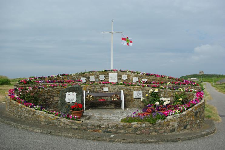 Monument à la mémoire des déportés d`Aurigny