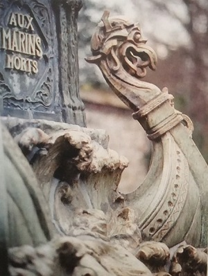 Monument aux marins morts, Bigot 1904 (P. Davis, musée de Normandie)